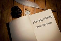 História de sucesso Foto de Stock Royalty Free