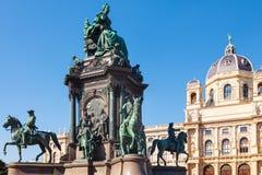 História natural de Maria Theresa Sculpture e do museu imagem de stock