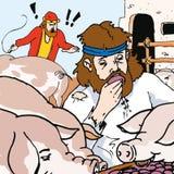 Histórias da Bíblia - a parábola do filho perdido Imagem de Stock