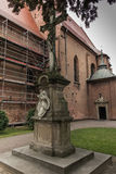 Histórico, convento del setletni ocho, las monjas del benedictino Foto de archivo libre de regalías