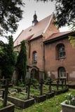 Histórico, convento del setletni ocho, las monjas del benedictino Foto de archivo