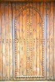 histórico en madera antigua y el metal oxidados stock de ilustración