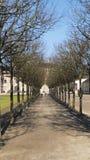Histórico, favorito do castelo com Förch, no público, livremente parque acessível, Rastatt na Floresta Negra imagem de stock royalty free