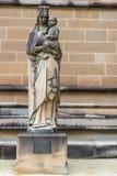 Histórico nuestra señora con el niño Jesús, Sydney Australia imagen de archivo libre de regalías