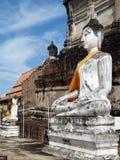 Histórico-parque de Ayutthaya Imagenes de archivo