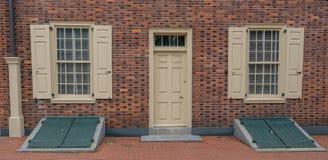 ` Histórico s Pasillo del carpintero en Philadelphia fotografía de archivo libre de regalías