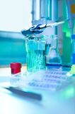 Histochemistry in process Stock Photography
