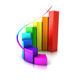 Histogram Royalty Free Stock Photo