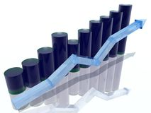 Histograma Fotografia de Stock