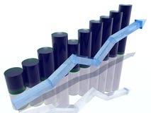 Histogramm Stockfotografie