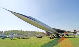 Histoire 10 d'aviation Image libre de droits