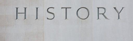 Histoire Photographie stock