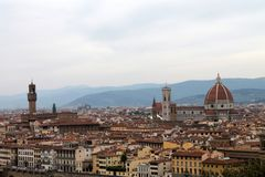 Histoire, art et culture de la ville de Florence - l'Italie 004 Images libres de droits