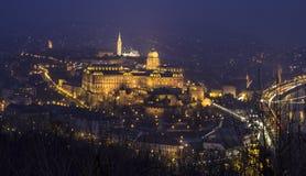 Histoire Bilding à Budapest Photos libres de droits