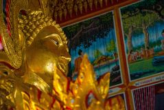 Histoire Bouddha Image stock