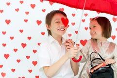 Histoire d'amour Images stock