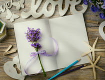 Histoire d'amour d'art Image stock