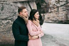 Histoire d'amour d'hiver Image stock