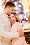 Histoire d'amour de beaux couples Images stock