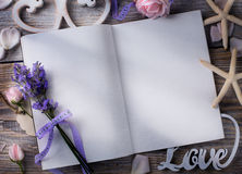 Histoire d'amour de la Provence Photos libres de droits