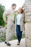 Histoire d'amour, jeune couple Relations Romance Photo stock