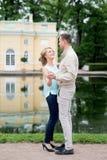 Histoire d'amour, jeune couple Relations Romance Photographie stock libre de droits