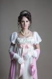 Histoire de conception de mode - 19ème siècle Photo libre de droits