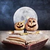 Histoire de Halloween Photo stock