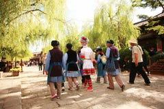 Histoire de Lijiang Photographie stock