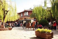 Histoire de Lijiang Images stock