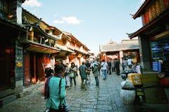 Histoire de Lijiang Photos libres de droits