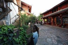 Histoire de Lijiang Photos stock