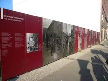 Histoire de mur de Berlin Images libres de droits