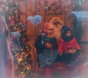 Histoire de Noël Photos stock