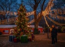 Histoire de Noël Photographie stock libre de droits