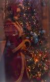 Histoire de Noël Photographie stock