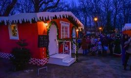 Histoire de Noël Photo libre de droits