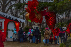 Histoire de Noël Photos libres de droits