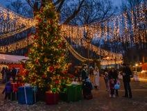 Histoire de Noël Images libres de droits