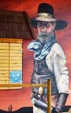 Histoire de peinture murale de Williams Images stock