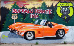 Histoire de peinture murale de Williams Photographie stock