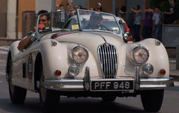 Histoire de véhicule Photos libres de droits