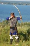Histoire vivante médiéval Photo stock