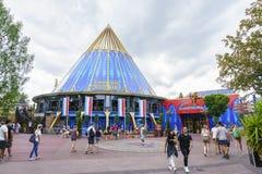 HISTORAMA - НИДЕРЛАНДСКАЯ тематическая область - парк Европы в ржавчине, Германии Стоковое Изображение