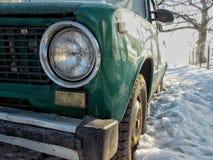 Historia auto de VAZ 2101 imagen de archivo