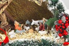 Historia bíblica de la Navidad imagen de archivo libre de regalías