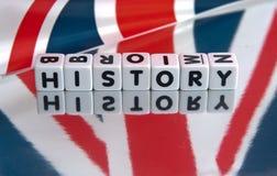 Historia británica fotografía de archivo