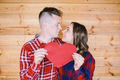 Historia de amor en un estudio foto de archivo libre de regalías