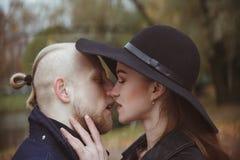 Historia de amor tirada de un par fotografía de archivo