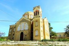 Historia de arte de la religión de Chipre de la iglesia fotos de archivo libres de regalías
